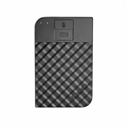 Verbatim Fingerprint Secure ulkoinen kovalevy 2000 GB Musta