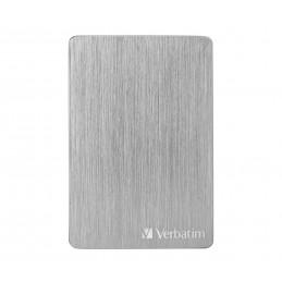 Verbatim Store 'n' Go ALU Slim ulkoinen kovalevy 2000 GB Hopea