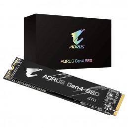 Gigabyte GP-AG42TB SSD-massamuisti M.2 2000 GB PCI Express 4.0 3D TLC NAND NVMe