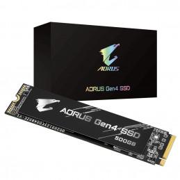 Gigabyte GP-AG4500G SSD-massamuisti M.2 500 GB PCI Express 4.0 3D TLC NAND NVMe