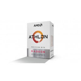 AMD Athlon 200GE suoritin 3,2 GHz 4 MB L3 Laatikko