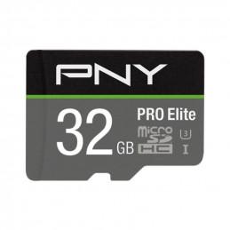 PNY PRO Elite flash-muisti 32 GB MicroSDXC UHS-I Luokka 10