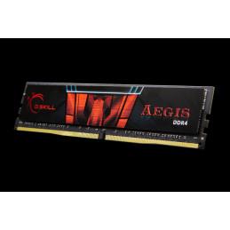 G.Skill Aegis F4-2400C17S-16GIS muistimoduuli 16 GB 1 x 16 GB DDR4 2400 MHz