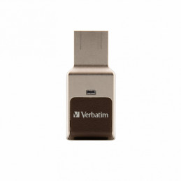 Verbatim Fingerprint Secure USB-muisti 32 GB USB A-tyyppi 3.2 Gen 1 (3.1 Gen 1) Hopea
