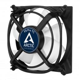 ARCTIC F8 Pro TC Tietokonekotelo Tuuletin 8 cm Musta, Valkoinen 1 kpl