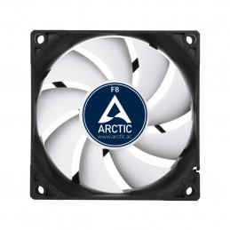 ARCTIC F8 Value Pack Tietokonekotelo Tuuletin 8 cm Musta, Valkoinen
