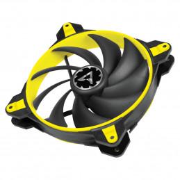 ARCTIC BioniX F140 Tietokonekotelo Tuuletin 14 cm Musta, Keltainen