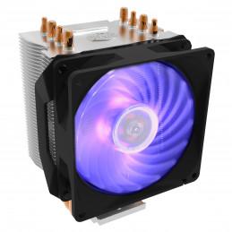 Cooler Master Hyper H410R RGB Suoritin Jäähdytin 9,2 cm Musta, Hopea