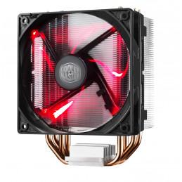 Cooler Master Hyper 212 LED Suoritin Jäähdytin 12 cm Musta, Metallinen, Punainen