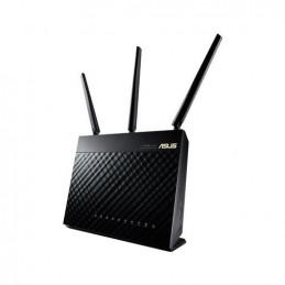 ASUS RT-AC68U langaton reititin Gigabitti Ethernet Kaksitaajuus (2,4 GHz 5 GHz) Musta