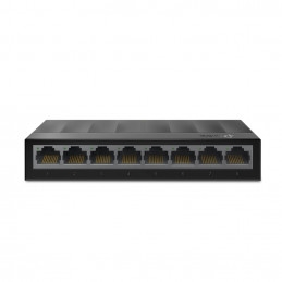 TP-LINK LS1008G Hallitsematon Gigabit Ethernet (10 100 1000) Musta