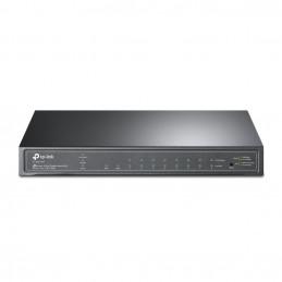 TP-LINK TL-SG2210P verkkokytkin Hallittu L2 L4 Gigabit Ethernet (10 100 1000) Power over Ethernet -tuki Musta