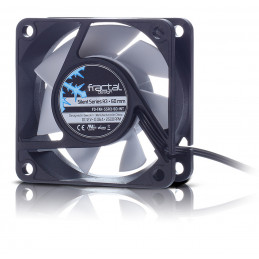Fractal Design Silent Series R3 60mm Tietokonekotelo Tuuletin 6 cm Musta, Valkoinen