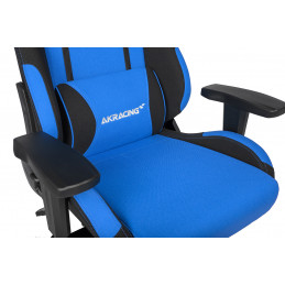 AKRacing EX PC-pelituoli Pehmustettu istuintoppaus Musta, Sininen