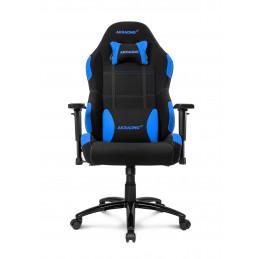 AKRacing EX-Wide PC-pelituoli Pehmustettu istuintoppaus Musta, Sininen