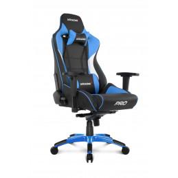 AKRacing Pro PC-pelituoli Pehmustettu istuintoppaus Musta, Sininen