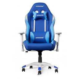 AKRacing California PC-pelituoli Pehmustettu istuintoppaus Sininen, Valkoinen