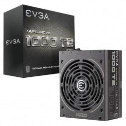 EVGA SuperNOVA 1000 T2 virtalähdeyksikkö 1000 W 24-pin ATX ATX Musta