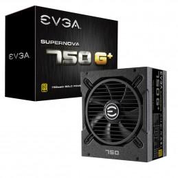 EVGA SuperNOVA 750 G1+ virtalähdeyksikkö 750 W 20+4 pin ATX ATX Musta