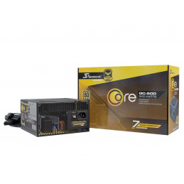 Seasonic SSR-500LC virtalähdeyksikkö 500 W 20+4 pin ATX ATX Musta
