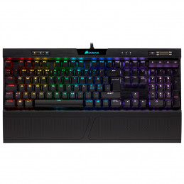Corsair K70 RGB MK.2 näppäimistö USB Pohjoismainen Musta