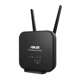 ASUS 4G-N12 B1 langaton reititin Nopea Ethernet Yksi kaista (2,4 GHz) Musta