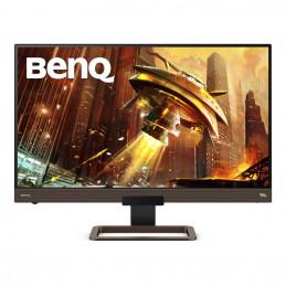 """Benq 9H.LJ8LA.TBE tietokoneen litteä näyttö 68,6 cm (27"""") 2560 x 1440 pikseliä LED Harmaa, Metallinen"""
