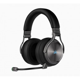 Corsair CA-9011180-EU kuulokkeet ja kuulokemikrofoni Pääpanta 3,5 mm liitin Musta
