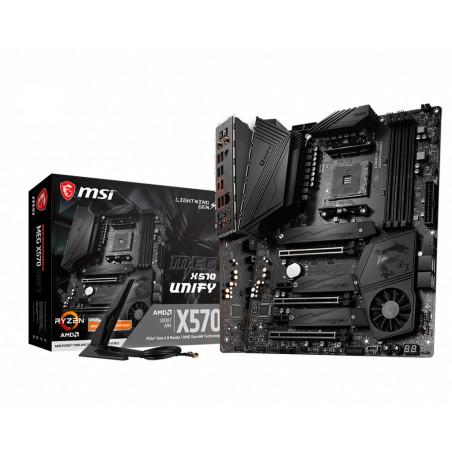 MSI MEG X570 UNIFY emolevy AMD X570 Kanta AM4 ATX