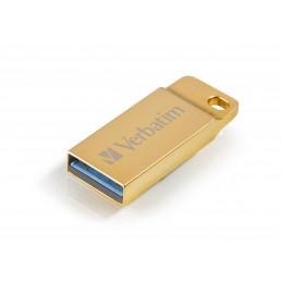 Verbatim Metal Executive USB-muisti 16 GB USB A-tyyppi 3.2 Gen 1 (3.1 Gen 1) Kulta