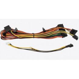 Chieftec CDP-085ITX virta-adapteri ja vaihtosuuntaaja Sisätila 85 W Musta