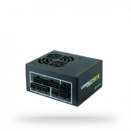 Chieftec CSN-650C virtalähdeyksikkö 650 W 20+4 pin ATX SFX Musta