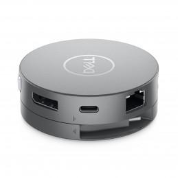 DELL DA310 Langallinen USB 3.2 Gen 2 (3.1 Gen 2) Type-C Hopea