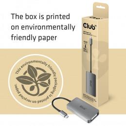 CLUB3D CAC-1510-A videokaapeli-adapteri USB Type-C DVI