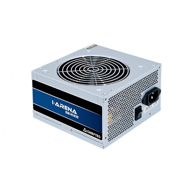 Chieftec GPB-500S virtalähdeyksikkö 500 W 20+4 pin ATX PS 2 Hopea