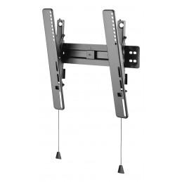 """Deltaco ARM-0152 TV-kiinnike 139,7 cm (55"""") Musta"""