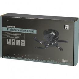 Deltaco ARM-500 projektorin kiinnike Katto Musta