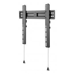 """Deltaco ARM-0150 TV-kiinnike 139,7 cm (55"""") Musta"""