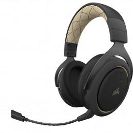 Corsair HS70 PRO WIRELESS Kuulokkeet Pääpanta Bluetooth Musta, Kerman väri