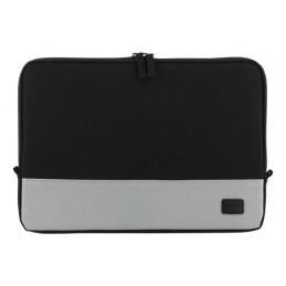 """Deltaco NV-789 laukku kannettavalle tietokoneelle 30,5 cm (12"""") Suojakotelo Musta, Harmaa"""