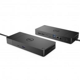 DELL WD19TBS-180W Langallinen USB 3.2 Gen 2 (3.1 Gen 2) Type-C Musta