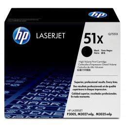 HP 51X 1 kpl Alkuperäinen Musta