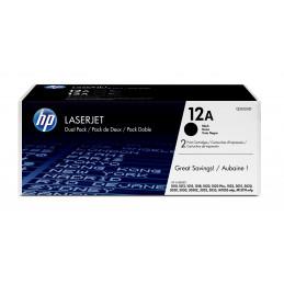 HP 12A 2 kpl Alkuperäinen Musta