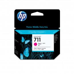HP 711 3 kpl Alkuperäinen Magenta