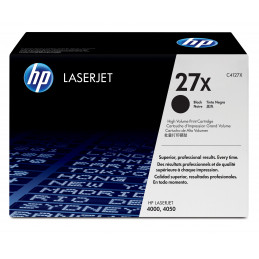HP 27X 1 kpl Alkuperäinen Musta