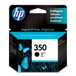 HP 350 1 kpl Alkuperäinen Perusvärintuotto Musta