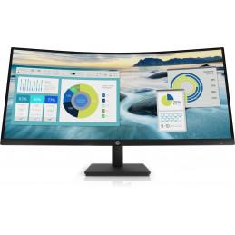 "HP P34hc G4 86,4 cm (34"") 3440 x 1440 pikseliä Quad HD LED Musta"