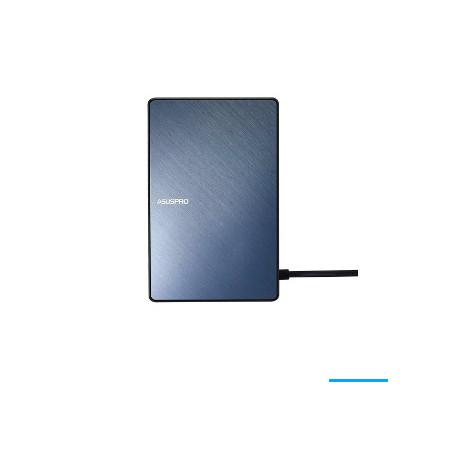 ASUS SimPro Dock Langallinen USB 3.2 Gen 1 (3.1 Gen 1) Type-C Musta, Sininen