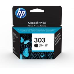 HP 303 Black Original Alkuperäinen Perusvärintuotto Musta