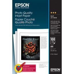 Epson Photo Quality Inkjet Paper - A4 - 100 arkkia